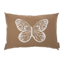 Kussen Butterfly Beige - 70xH50 cm