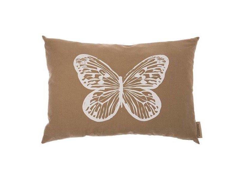 Riverdale Kussen Butterfly Beige - 70xH50 cm