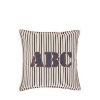 Kussen ABC Wit - 45xH45 cm