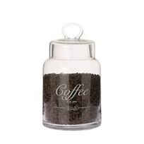 Voorraadpot Coffee Glas - Ø14,5xH26 cm
