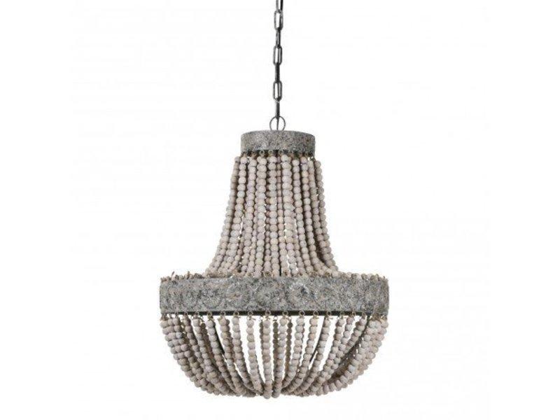 PTMD Collection Hanglamp met Kralen - 51xH62 cm