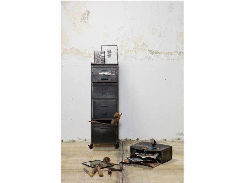 BePureHome Metalen kast Stuff - 39x37xH112 cm