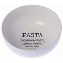Pastaschaal Wit - Ø23xH9,5 cm