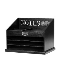 Mailbox Notes Zwart - 22x35xH25 cm