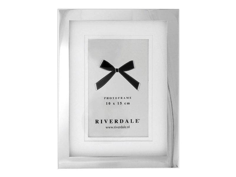 Riverdale Fotolijst Zilver Metaal - 16x2,5xH21 cm