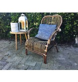 GeWoon Rieten loungestoel - 67x80xH86 cm