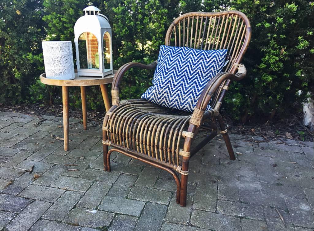 Rotan Lounge Stoel : Rieten loungestoel xh cm gewoonknus