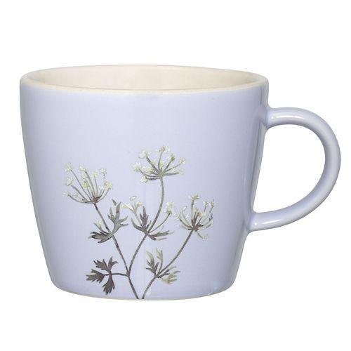 Bloomingville Mok Flora Blauw - �9,5xH8 cm