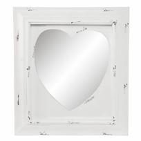 Wandspiegel Hout Hart - 62x5xH70 cm