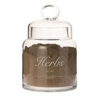 Voorraadpot Herbs Glas - Ø13xH20 cm