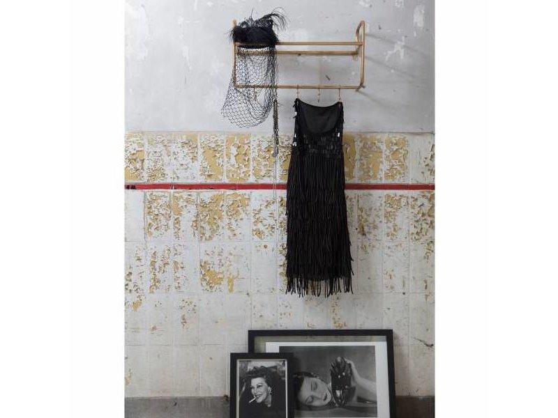 BePureHome Wandkapstok Hatstand Antiek Messing - 63x23xH40 cm