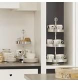 Riverdale Mok Cappuccino Wit - 12x8,5xH10,7 cm