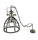 Countryfield Hanglamp Barbera Donkergrijs - Ø47,5xH166cm