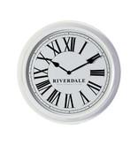 Riverdale Wandklok Time Wit - Ø52 cm