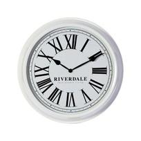 Wandklok Time Wit - Ø52 cm