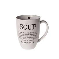 Witte Mok Soup XL - 14x10,5xH13,5 cm