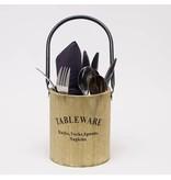 GeWoon Ronde Bestekbak Tableware - ø12xH14 cm