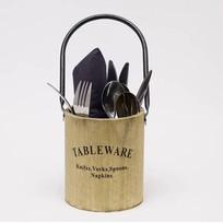 Ronde Bestekbak Tableware - ø12xH14 cm