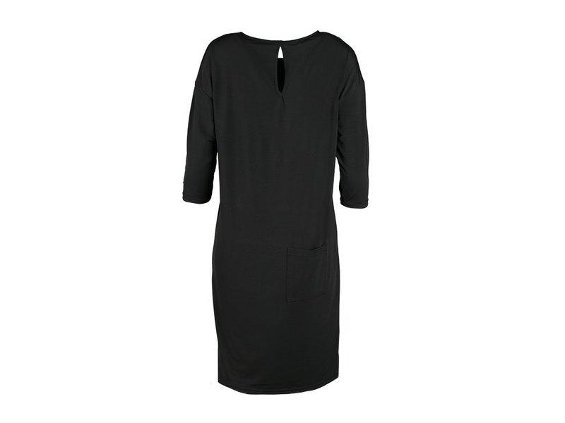Zusss Eigenwijs jurkje zwart - L/XL