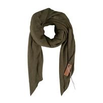 Stoere grote sjaal groen