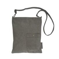 Eenvoudige tas middengrijs - 35x2xH40 cm