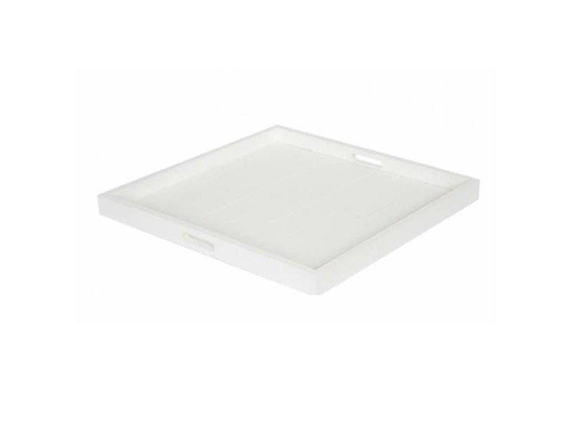 GeWoon Wit Houten Dienblad - 60x60 cm
