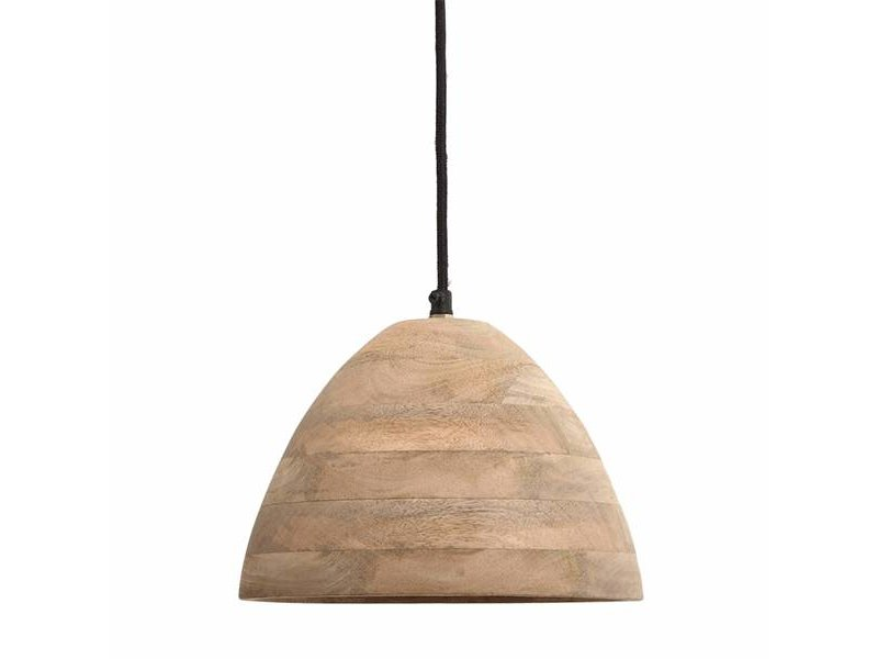 PTMD Collection Hanglamp Northern Mangohout - Ø24xH14 cm