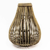 Bamboe Lantaarn Druppel - Ø38xH52 cm