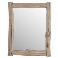 Houten Wandspiegel Naturel - 54x5xH70,5 cm