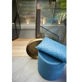 Riverdale Kussen Flower Emerald Blauw - 60xH30 cm
