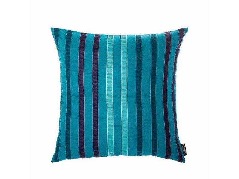 Riverdale Kussen Stripes Emerald - 45xH45 cm