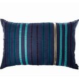 Riverdale Kussen Stripes Donkerblauw - 70xH50 cm