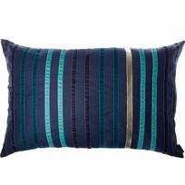 Kussen Stripes Donkerblauw - 70xH50 cm
