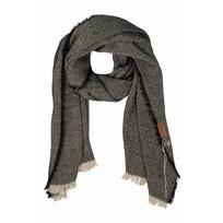 Gespikkelde sjaal zwart