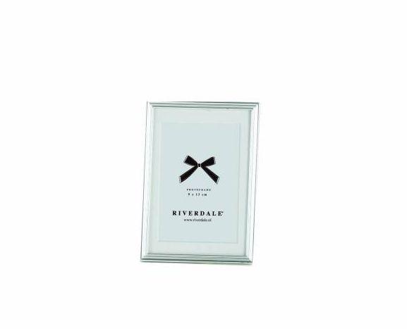 Riverdale Zilveren Fotolijst Ribbel - 9xH13 cm