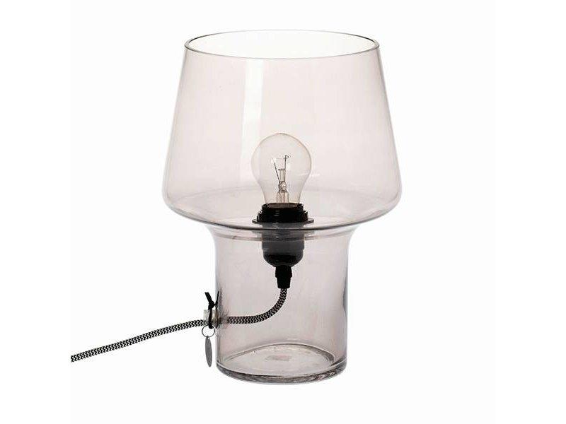 Riverdale Tafellamp Swindon Grijs - Ø22xH30 cm