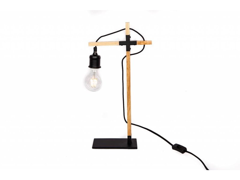 GeWoon Naturel Tafellamp Kraan - 24x11xH50 cm