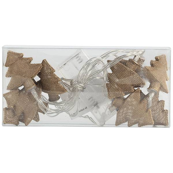 PTMD Collection Lichtsnoer Kerstboom Goud 5x5xH160 cm