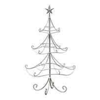 Decoratie Kerstboom Zilver - Ø43xH75 cm