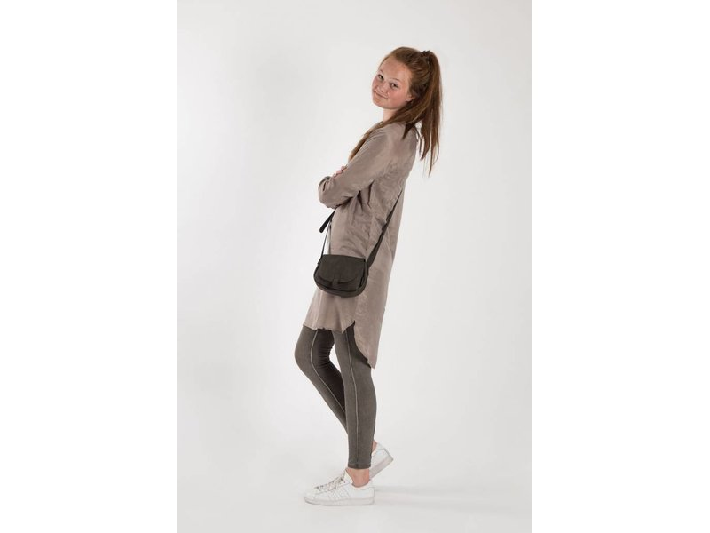 Zusss Gewassen jersey legging lever - M/L