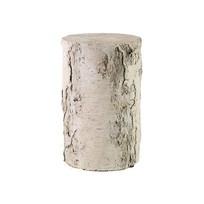 Whitewash Sokkel Carst - Ø20xH39,5 cm