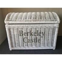 Witte rieten schatkist L - Berkeley Castle
