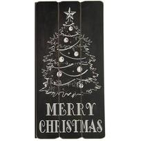 Christmas Tekstbord - 30x1xH60 cm