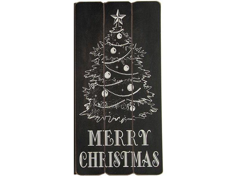 Countryfield Christmas Tekstbord - 30x1xH60 cm