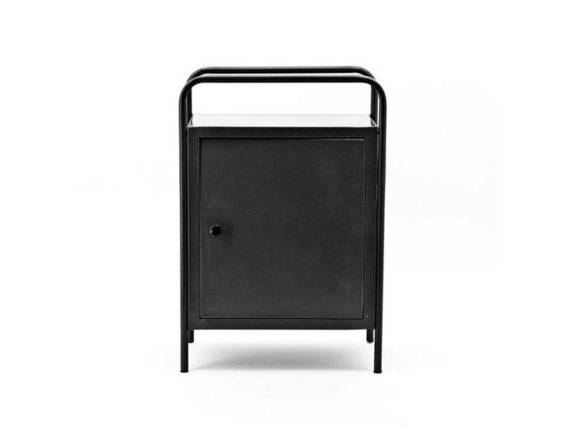 By-Boo Locksmith Kastje Zwart - 50x30xH65 cm
