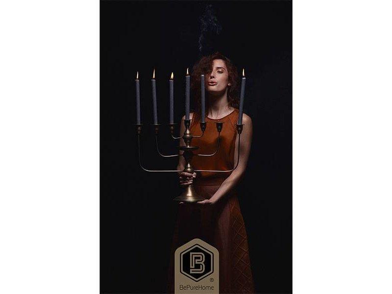 BePureHome Kandelaar Totem Antiek Messing - 58x18xH46 cm