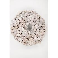 Witte Lotus Krans - Ø38 cm