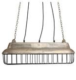 PTMD Collection Aluminium Hanglamp Fabrieksdesign - 70x22xH24,5 cm