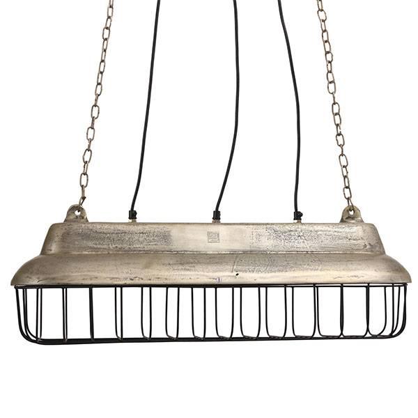 PTMD Collection Aluminium Hanglamp Fabrieksdesign 70x22xH24,5 cm