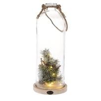 Led-stolp Kerst - Ø16xH39 cm